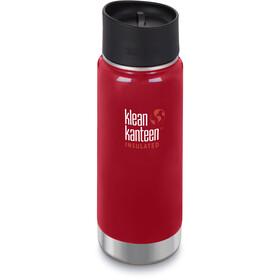 Klean Kanteen Wide Vacuum Insulated Bottle Café Cap 2.0 473ml mineral red